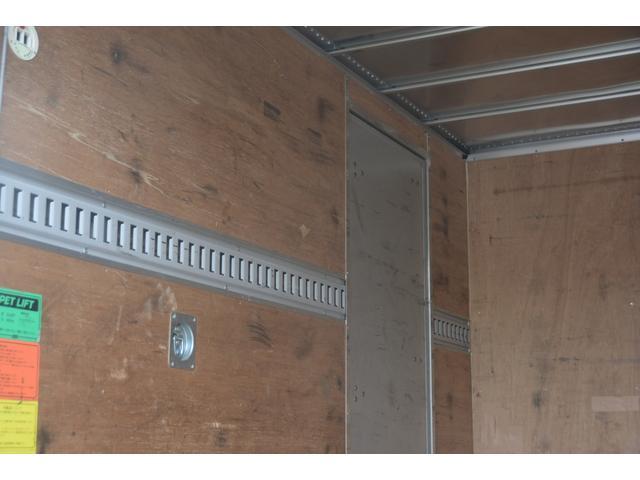 10尺 アルミバン サイドドア AT 垂直リフト 2トン(19枚目)