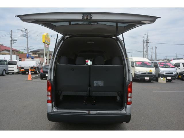 GL 14人乗 4ドア ナビ パワースライドドア 4型 ワンオーナー トヨタ純正ナビ(SD無し) ワンセグTV バックカメラ オートエアコン 取扱説明書 新車時保証書 スペアキー レベライザー ダブルエアバック ETC リクライニングモケットシート(16枚目)