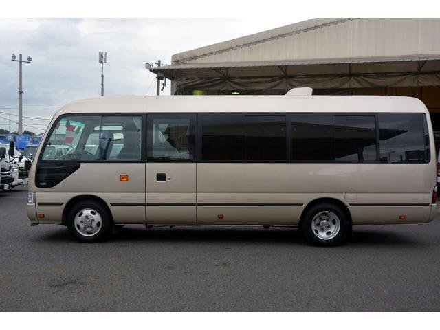 ロングEX マイクロバス エアサス 自動ドア ナビ 29人乗り 自動ドア モケットシート ルームラック ETC バックカメラ 冷蔵庫 エアサス フォグランプ(4枚目)