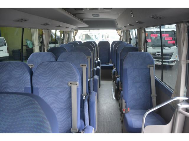ロングEX マイクロバス エアサス 自動ドア ナビ 29人乗り 自動ドア モケットシート ルームラック ETC バックカメラ 冷蔵庫 エアサス フォグランプ(15枚目)