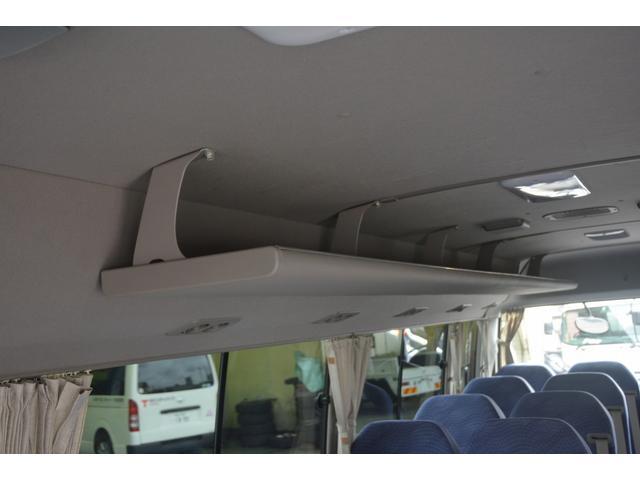 ロングEX マイクロバス エアサス 自動ドア ナビ 29人乗り 自動ドア モケットシート ルームラック ETC バックカメラ 冷蔵庫 エアサス フォグランプ(16枚目)
