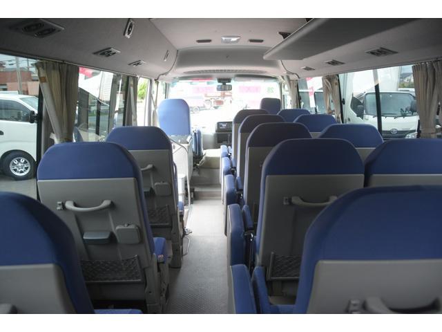 ロングEX マイクロバス エアサス 自動ドア ナビ 29人乗り 自動ドア モケットシート ルームラック ETC バックカメラ 冷蔵庫 エアサス フォグランプ(17枚目)