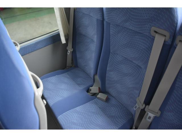 ロングEX マイクロバス エアサス 自動ドア ナビ 29人乗り 自動ドア モケットシート ルームラック ETC バックカメラ 冷蔵庫 エアサス フォグランプ(18枚目)