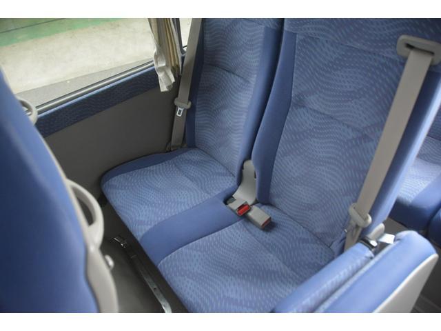 ロングEX マイクロバス エアサス 自動ドア ナビ 29人乗り 自動ドア モケットシート ルームラック ETC バックカメラ 冷蔵庫 エアサス フォグランプ(20枚目)