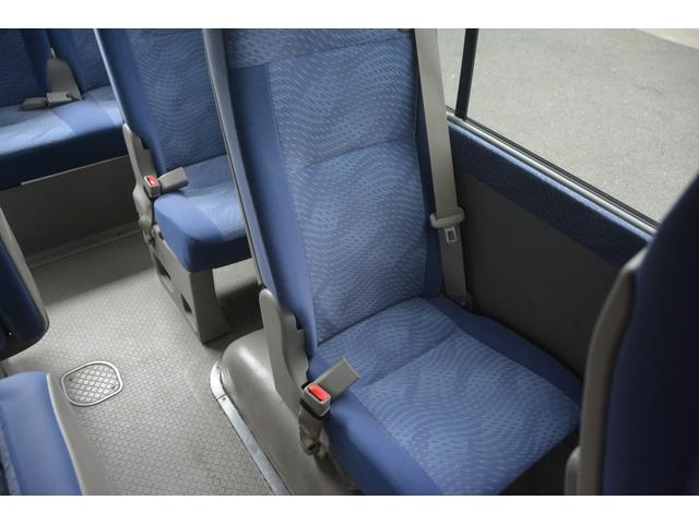 ロングEX マイクロバス エアサス 自動ドア ナビ 29人乗り 自動ドア モケットシート ルームラック ETC バックカメラ 冷蔵庫 エアサス フォグランプ(23枚目)