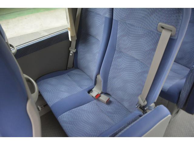 ロングEX マイクロバス エアサス 自動ドア ナビ 29人乗り 自動ドア モケットシート ルームラック ETC バックカメラ 冷蔵庫 エアサス フォグランプ(24枚目)