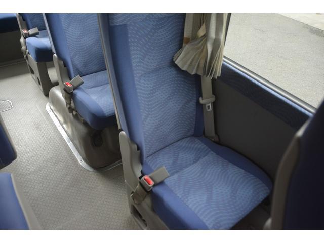 ロングEX マイクロバス エアサス 自動ドア ナビ 29人乗り 自動ドア モケットシート ルームラック ETC バックカメラ 冷蔵庫 エアサス フォグランプ(25枚目)