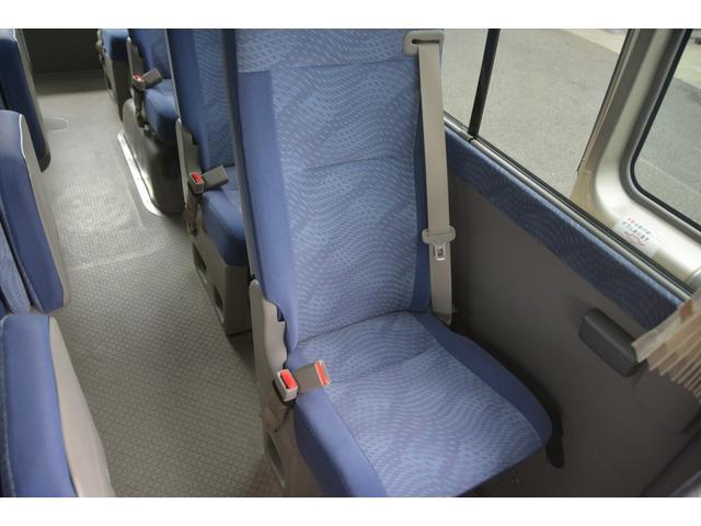 ロングEX マイクロバス エアサス 自動ドア ナビ 29人乗り 自動ドア モケットシート ルームラック ETC バックカメラ 冷蔵庫 エアサス フォグランプ(27枚目)