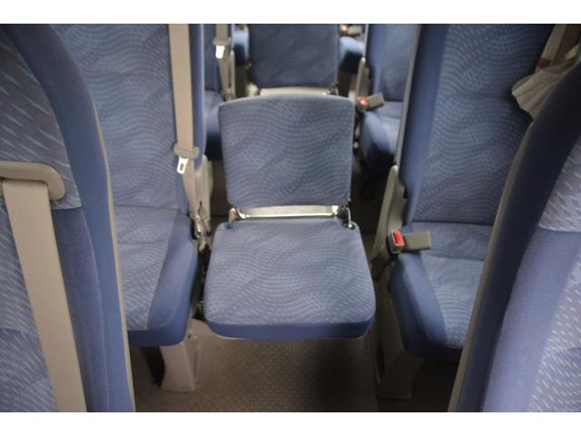 ロングEX マイクロバス エアサス 自動ドア ナビ 29人乗り 自動ドア モケットシート ルームラック ETC バックカメラ 冷蔵庫 エアサス フォグランプ(33枚目)