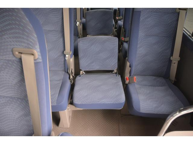 ロングEX マイクロバス エアサス 自動ドア ナビ 29人乗り 自動ドア モケットシート ルームラック ETC バックカメラ 冷蔵庫 エアサス フォグランプ(34枚目)