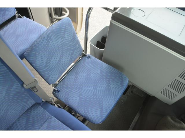ロングEX マイクロバス エアサス 自動ドア ナビ 29人乗り 自動ドア モケットシート ルームラック ETC バックカメラ 冷蔵庫 エアサス フォグランプ(36枚目)
