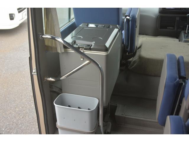 ロングEX マイクロバス エアサス 自動ドア ナビ 29人乗り 自動ドア モケットシート ルームラック ETC バックカメラ 冷蔵庫 エアサス フォグランプ(38枚目)