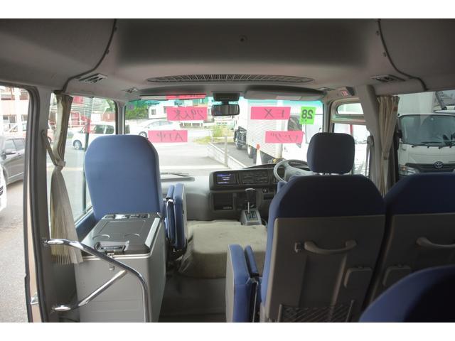 ロングEX マイクロバス エアサス 自動ドア ナビ 29人乗り 自動ドア モケットシート ルームラック ETC バックカメラ 冷蔵庫 エアサス フォグランプ(39枚目)