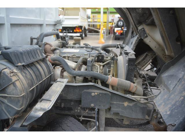 4トン ベッドレス 強化ダンプ 1方開 電動コボレーン MT 極東製 積載3800kg フォグランプ 坂道発進補助 ETC ダンプピン(15枚目)