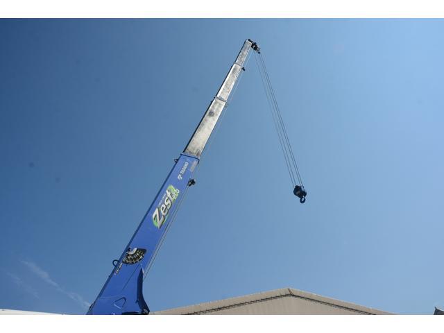 4トン 標準幅 4段クレーン ラジコン無し 2.75t積 積載2750kg 5.5m長 タダノ製 2.93t吊 フックイン 床板2重張り 床フック6対 坂道発進補助 オートエアコン(23枚目)