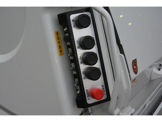 パッカー車 プレス式 新明和製 積載2000kg 4.3立米 連続動作 汚水タンク 作業灯 左電格ミラー キーレス 防臭扉(24枚目)