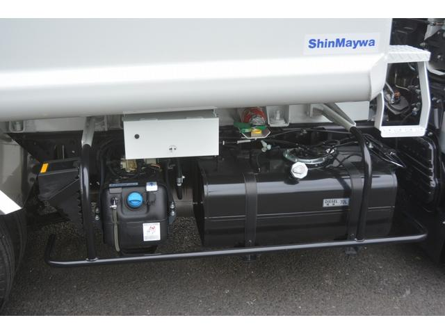 パッカー車 プレス式 新明和製 積載2000kg 4.3立米 連続動作 汚水タンク 作業灯 左電格ミラー キーレス 防臭扉(26枚目)