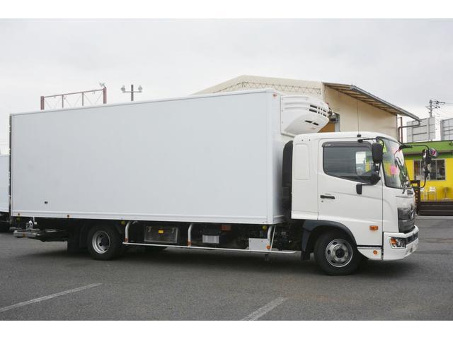 ワイド ベッド付 冷凍車 格納パワーゲート リアエアサス サイドドア 積載2300kg 6.2m長 菱重製 ジョルダー4列 キーストン -30度設定 ラッシング2段 バックカメラ(7枚目)
