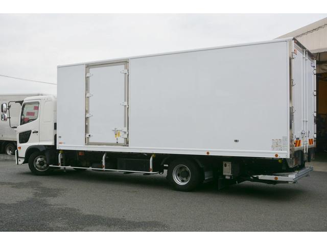 ワイド ベッド付 冷凍車 格納パワーゲート リアエアサス サイドドア 積載2300kg 6.2m長 菱重製 ジョルダー4列 キーストン -30度設定 ラッシング2段 バックカメラ(8枚目)