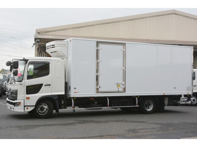 ワイド ベッド付 冷凍車 格納パワーゲート リアエアサス サイドドア 積載2300kg 6.2m長 菱重製 ジョルダー4列 キーストン -30度設定 ラッシング2段 バックカメラ(10枚目)