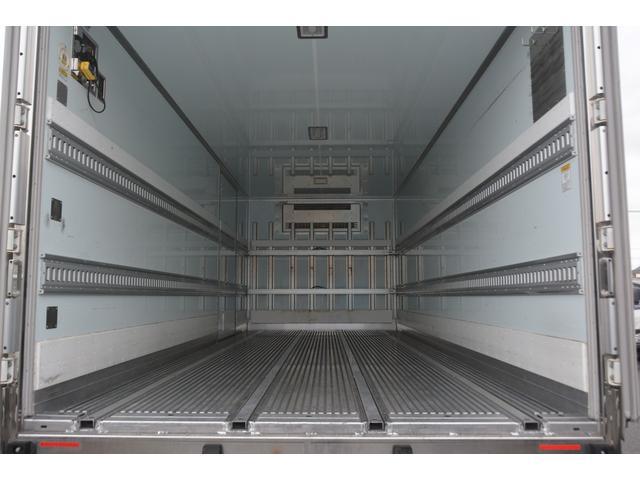 ワイド ベッド付 冷凍車 格納パワーゲート リアエアサス サイドドア 積載2300kg 6.2m長 菱重製 ジョルダー4列 キーストン -30度設定 ラッシング2段 バックカメラ(20枚目)