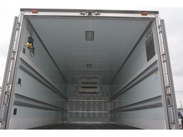 ワイド ベッド付 冷凍車 格納パワーゲート リアエアサス サイドドア 積載2300kg 6.2m長 菱重製 ジョルダー4列 キーストン -30度設定 ラッシング2段 バックカメラ(21枚目)