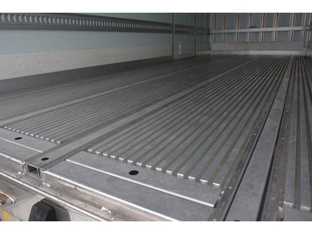 ワイド ベッド付 冷凍車 格納パワーゲート リアエアサス サイドドア 積載2300kg 6.2m長 菱重製 ジョルダー4列 キーストン -30度設定 ラッシング2段 バックカメラ(22枚目)