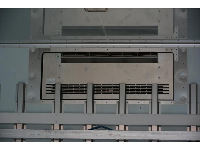 ワイド ベッド付 冷凍車 格納パワーゲート リアエアサス サイドドア 積載2300kg 6.2m長 菱重製 ジョルダー4列 キーストン -30度設定 ラッシング2段 バックカメラ(23枚目)