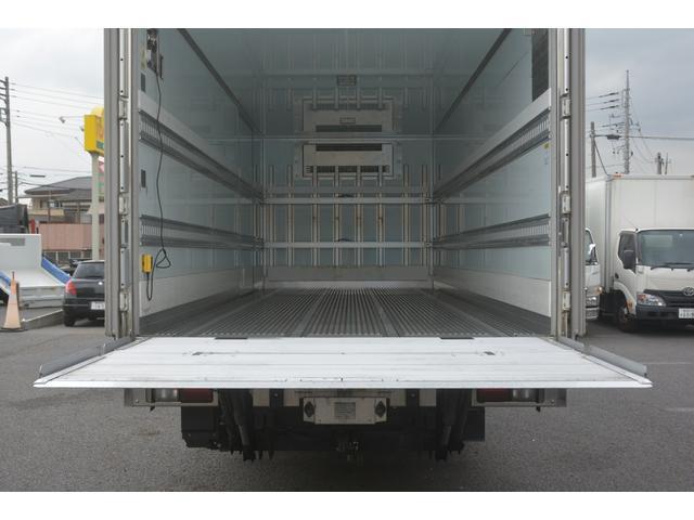 ワイド ベッド付 冷凍車 格納パワーゲート リアエアサス サイドドア 積載2300kg 6.2m長 菱重製 ジョルダー4列 キーストン -30度設定 ラッシング2段 バックカメラ(26枚目)