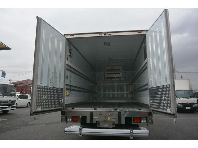 ワイド ベッド付 冷凍車 格納パワーゲート リアエアサス サイドドア 積載2300kg 6.2m長 菱重製 ジョルダー4列 キーストン -30度設定 ラッシング2段 バックカメラ(28枚目)