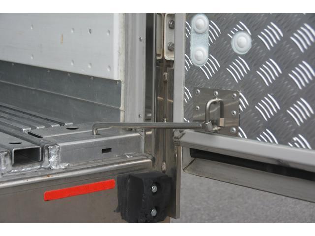 ワイド ベッド付 冷凍車 格納パワーゲート リアエアサス サイドドア 積載2300kg 6.2m長 菱重製 ジョルダー4列 キーストン -30度設定 ラッシング2段 バックカメラ(29枚目)