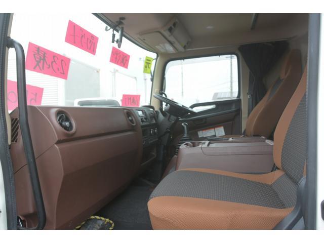 ワイド ベッド付 冷凍車 格納パワーゲート リアエアサス サイドドア 積載2300kg 6.2m長 菱重製 ジョルダー4列 キーストン -30度設定 ラッシング2段 バックカメラ(42枚目)