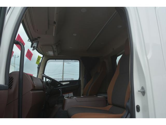 ワイド ベッド付 冷凍車 格納パワーゲート リアエアサス サイドドア 積載2300kg 6.2m長 菱重製 ジョルダー4列 キーストン -30度設定 ラッシング2段 バックカメラ(43枚目)