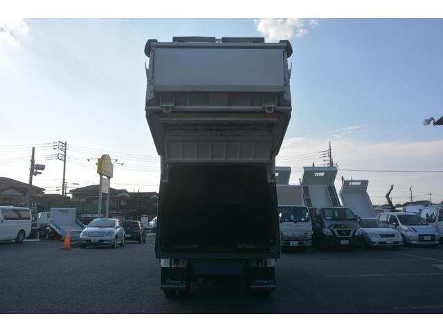 ワイド パッカー車 プレス式 8.3立米 汚水タンク 防臭扉 極東製 積載2700kg 連続動作 バックカメラ ETC フォグランプ 網工具入れ(24枚目)