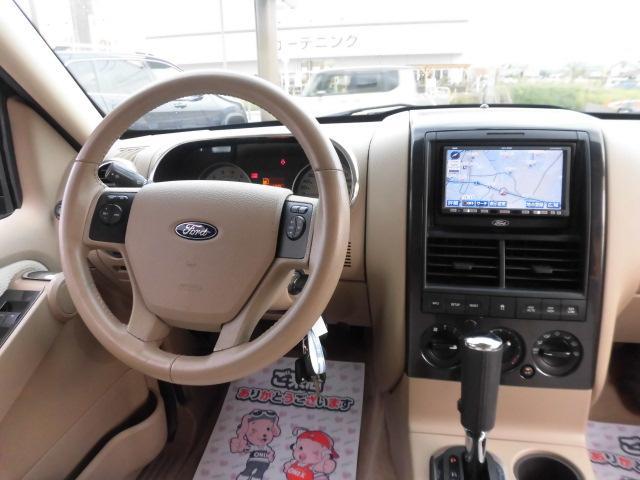 フォード フォード エクスプローラー XLT 最終 正規ディーラー サンルーフ