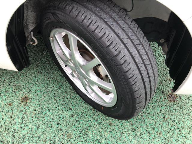 タイヤの溝もまだまだ!