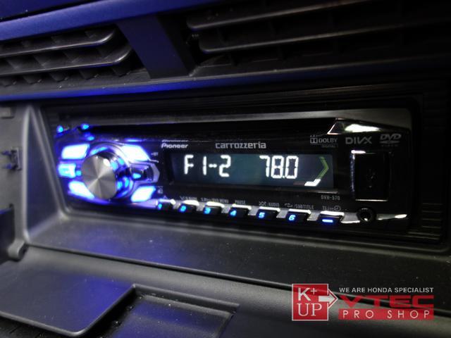 ホンダ S2000 ベースグレード 青革内装 フルノーマル禁煙車 加工ナビ取付
