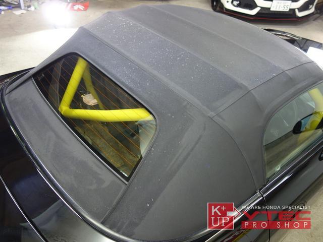 ベースグレード フルバケ ロールケージ 車高調 追加メーター(9枚目)
