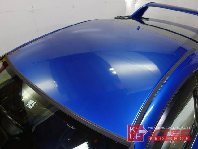 タイプR 後期最終型 青レカロ 青内装 禁煙車 モデューロFロアスカート 社外メモリナビ ETC プッシュスタート 電動格納ミラー キーレス(33枚目)