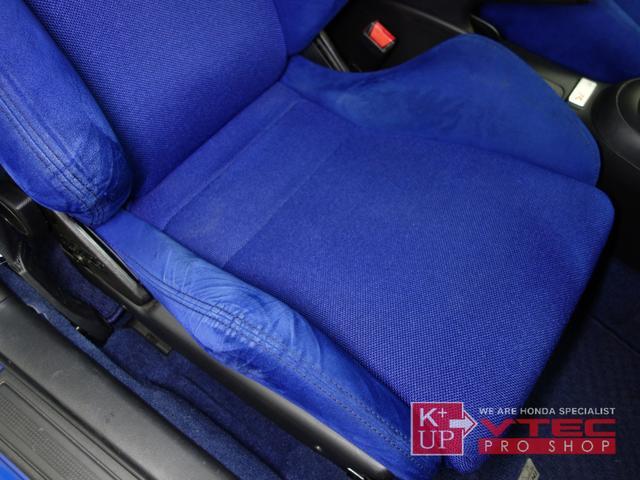 タイプR 後期最終型 青レカロ 青内装 禁煙車 モデューロFロアスカート 社外メモリナビ ETC プッシュスタート 電動格納ミラー キーレス(46枚目)