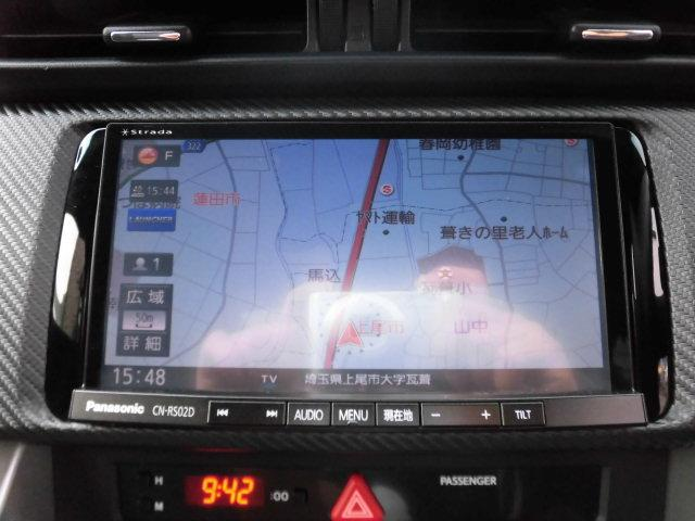 スバル BRZ S F6速 純正メモリーナビTV Bカメラ LEDライト