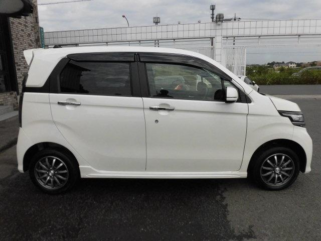 ホンダ N-WGNカスタム G 4WD 純正エアロ ハーフ革シート スマートキー