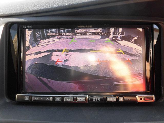トヨタ アイシス プラタナ Vセレクション 後期型 社外HDDナビTV HID