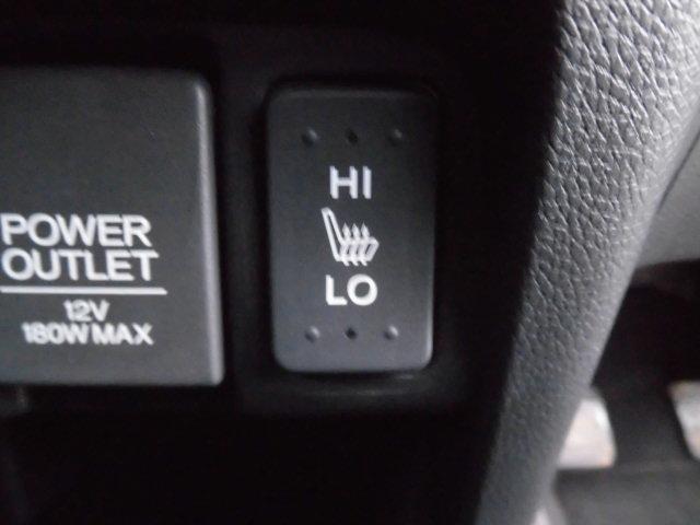 シートヒーターの機能もついてます。