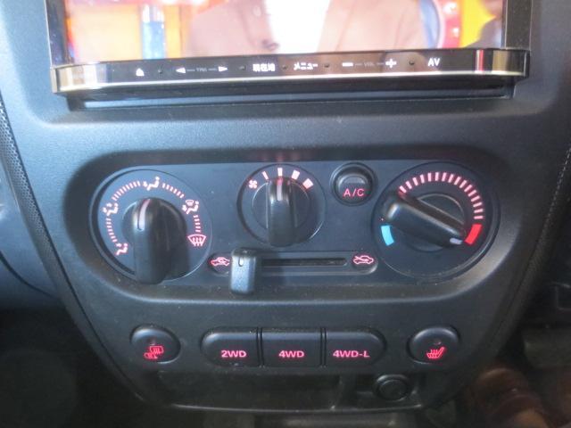 スズキ ジムニー クロスアドベンチャーXC 4WD社外メモリーナビ地デジ合皮革