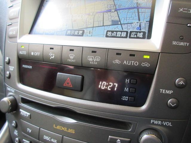 レクサス IS IS350バージョンL 純正HDDナビBカメラ本革電動暖冷