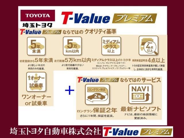 中古車選びに不安を感じている方も多いはず。中古車に対する貴方の不安を安心に変える3つの約束。それがトヨタのU-Carブランド【T-Value プレミアム】! ここまで徹底するのがトヨタです。