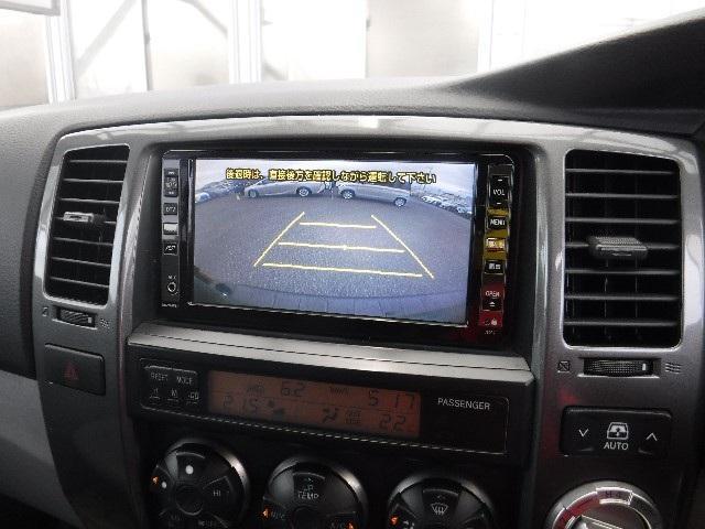 HDDナビ連動のバックガイドモニター付。車庫入れなどの後退時もガイドが付いているので運転し易いですよ!