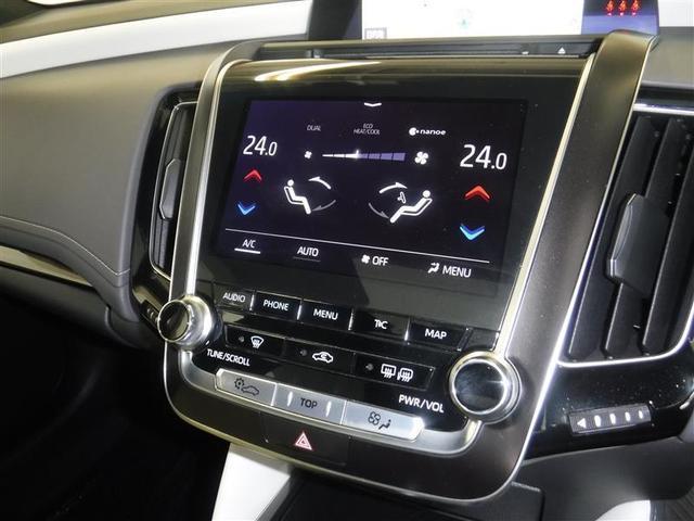 左右独立温度調節機能付エアコンは、上質なドライブの提供に役立ちます。