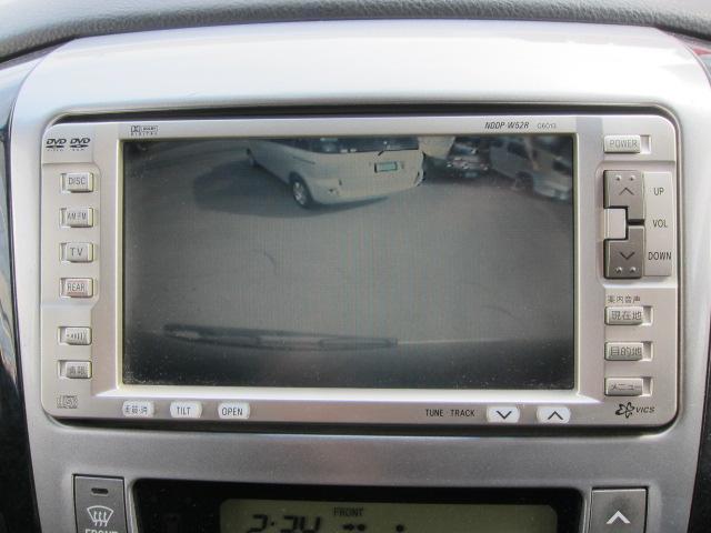 トヨタ アルファードG MS 純正DVDナビ 左パワースライド バックカメラ ETC